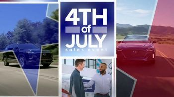 Hyundai 4th of July Sales Event TV Spot, 'It's On' [T2]