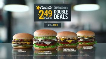 Carl\'s Jr. Guacamole Double Cheeseburger TV Spot, \'Typo\'