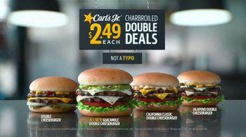 Carl's Jr. Guacamole Double Cheeseburger TV Spot, 'Typo'