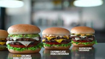 Carl's Jr. Guacamole Double Cheeseburger TV Spot, 'Typo' - Thumbnail 8