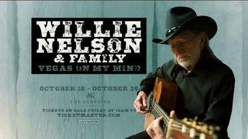 Willie Nelson & Family Vegas On My Mind TV Spot, 'The Venetian' - Thumbnail 9