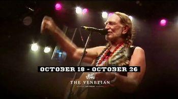 Willie Nelson & Family Vegas On My Mind TV Spot, 'The Venetian' - Thumbnail 3