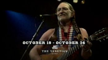 Willie Nelson & Family Vegas On My Mind TV Spot, 'The Venetian' - Thumbnail 4