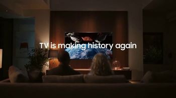 Samsung QLED 8K TV Spot, \'TV Is Making History Again\'