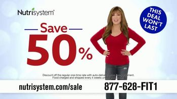 Nutrisystem July 4th Sale TV Spot, 'Save 50%' - 1578 commercial airings