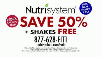 Nutrisystem July 4th Sale TV Spot, 'Save 50 Percent' - Thumbnail 8