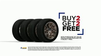 National Tire & Battery (NTB) TV Spot, 'Value Installation Package: Rebate & Buy Two, Get Two'