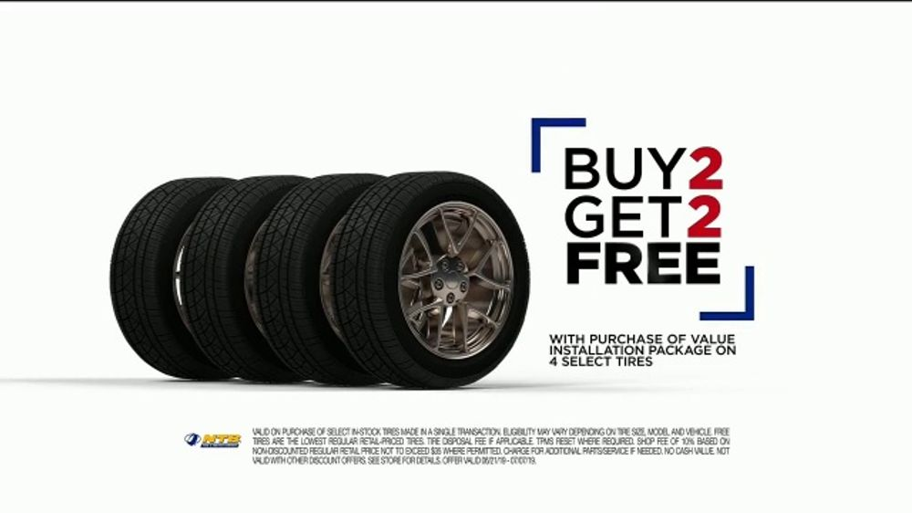 National Tire And Wheel >> National Tire Battery Ntb Tv Commercial Value Installation Package Rebate Buy Two Get Two Video