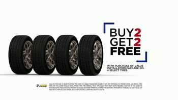 National Tire & Battery (NTB) TV Spot, 'Value Installation Package: Rebate & Buy Two, Get Two' - Thumbnail 6