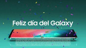 Samsung Galaxy TV Spot, 'Feliz día del Galaxy: S10 o S10+' [Spanish] - Thumbnail 4