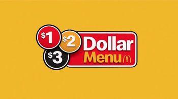 McDonald's $1 $2 $3 Dollar Menu TV Spot, 'Hot 'N Spicy McChicken and Dr Pepper' - Thumbnail 1
