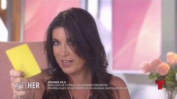 L'Oreal Paris TV Spot, 'Telemundo Deportes: See Her' con Viviana Vila [Spanish] - Thumbnail 3
