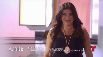 L'Oreal Paris TV Spot, 'Telemundo Deportes: See Her' con Viviana Vila [Spanish] - Thumbnail 5