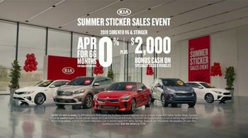 Kia Summer Sticker Sales Event TV Spot, 'Sticker Sale' [T2] - Thumbnail 9