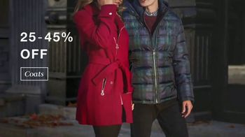 Macy's Columbus Day Sale TV Spot, 'Shoes, Jewelry and Coats' - Thumbnail 4