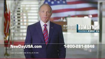NewDay USA VA Streamline Refi Loan TV Spot, 'Mortgage Rates Near Record Lows'