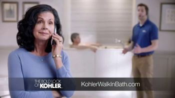 Kohler Walk-In Bath TV Spot, 'Independence With Peace of Mind: $1,000 Off'