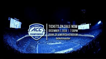 ACC Championship 2019 TV Spot, 'Buy Tickets' Song by Dominic Martin - Thumbnail 9