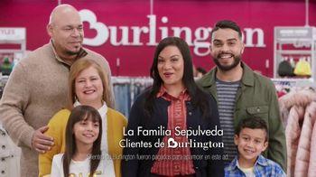 Burlington TV Spot, 'La familia Sepulveda: primer abrigo' [Spanish]