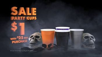 Party City TV Spot, 'Halloween: Party Cups, Hanging Props & Costumes' Song by Wilson Pickett - 35 commercial airings