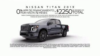 2019 Nissan Titan TV Spot, 'Llamando a todos los titanes' [Spanish] [T2] - Thumbnail 9