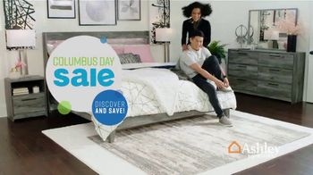 Ashley HomeStore Columbus Day Sale TV Spot, 'Going On Now: Sofa' Song by Midnight Riot - Thumbnail 2