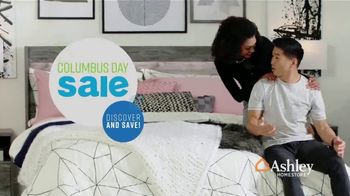Ashley HomeStore Columbus Day Sale TV Spot, 'Going On Now: Sofa' Song by Midnight Riot - Thumbnail 3