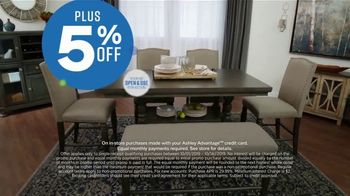 Ashley HomeStore Columbus Day Sale TV Spot, 'Going On Now: Sofa' Song by Midnight Riot - Thumbnail 6