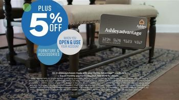 Ashley HomeStore Columbus Day Sale TV Spot, 'Going On Now: Sofa' Song by Midnight Riot - Thumbnail 7