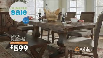 Ashley HomeStore Columbus Day Sale TV Spot, 'Going On Now: Sofa' Song by Midnight Riot - Thumbnail 8
