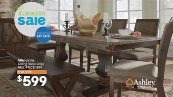 Ashley HomeStore Columbus Day Sale TV Spot, 'Going On Now: Sofa' Song by Midnight Riot - Thumbnail 9
