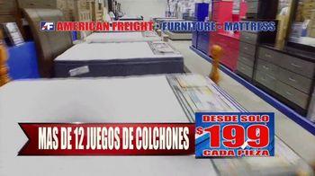 American Freight Gran Venta Semestral TV Spot, 'Juegos de comedor y colchones' [Spanish] - Thumbnail 3