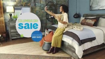 Ashley HomeStore Columbus Day Mattress Sale TV Spot, 'Final Week: $31: Next-Day Delivery' Song by Midnight Riot - Thumbnail 2