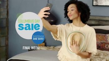 Ashley HomeStore Columbus Day Mattress Sale TV Spot, 'Final Week: $31: Next-Day Delivery' Song by Midnight Riot - Thumbnail 3