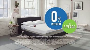 Ashley HomeStore Columbus Day Mattress Sale TV Spot, 'Final Week: $31: Next-Day Delivery' Song by Midnight Riot - Thumbnail 6