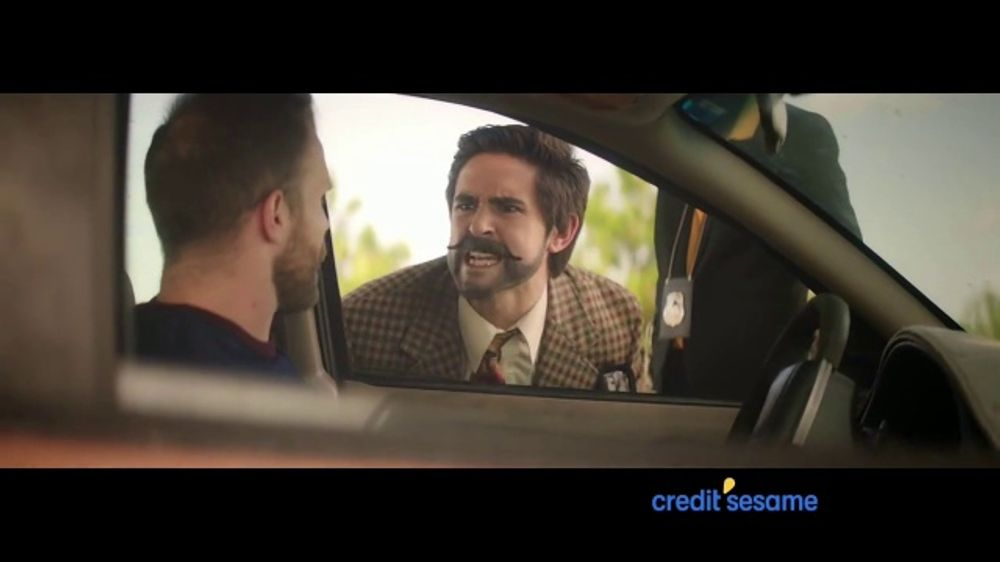 Credit Sesame TV Commercial, 'Pulled Over'