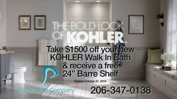 Kohler's Walk-In Bath TV Spot, 'Installed In About a Day: $1500 Off + Free Barre Shelf' - Thumbnail 9