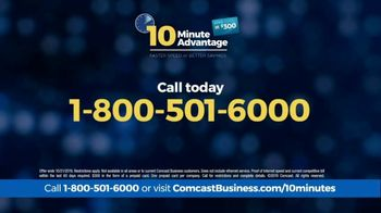 Comcast Business 10 Minute Advantage TV Spot, 'Faster Speed or Better Savings' - Thumbnail 7