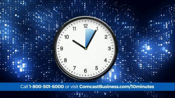 Comcast Business 10 Minute Advantage TV Spot, 'Faster Speed or Better Savings' - Thumbnail 1