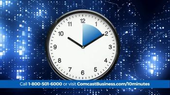 Comcast Business 10 Minute Advantage TV Spot, \'Faster Speed or Better Savings\'