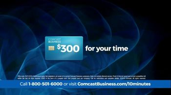 Comcast Business 10 Minute Advantage TV Spot, 'Faster Speed or Better Savings' - Thumbnail 5