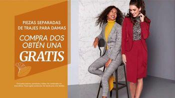 K&G Fashion Superstore Evento Moda de Otoño TV Spot, 'Vestidos y trajes' [Spanish] - Thumbnail 8