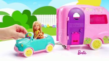 Barbie Chelsea Camper TV Spot, 'Backyard Adventure' - Thumbnail 1