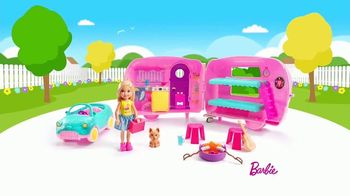 Barbie Chelsea Camper TV Spot, 'Backyard Adventure' - Thumbnail 2