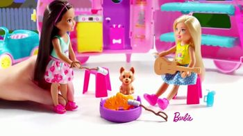 Barbie Chelsea Camper TV Spot, 'Backyard Adventure'