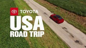 2019 Toyota Camry TV Spot, 'USA Road Trip: Cider Mill' Featuring Ethan Erickson, Danielle Demski [T2] - Thumbnail 1