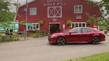 2019 Toyota Camry TV Spot, 'USA Road Trip: Cider Mill' Featuring Ethan Erickson, Danielle Demski [T2] - Thumbnail 10