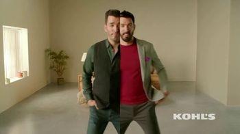 Kohl's Scott Living Collection TV Spot, 'Two Brothers, Two Styles' Feat. Jonathan Scott, Drew Scott - Thumbnail 1