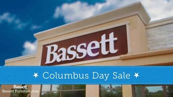 Bassett Columbus Day Sale TV Spot, '25 Percent Off Storewide'