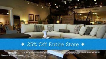 Bassett Columbus Day Sale TV Spot, '25 Percent Off Storewide' - Thumbnail 5